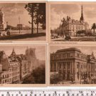 VINTAGE Argentina Buenos Aires City Postcard LOT OF 4