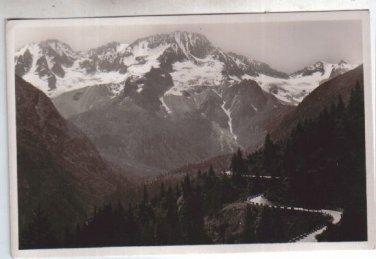 Italy Italia Strada d Tonale Trentino Vintage Postcard