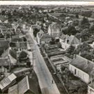 France Authon Airview Vintage Postcard