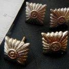 Argentina Epaulettes Uniform Army Badge Emblem SET OF 4