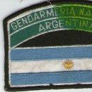 Argentina Gendarmeria Border Police Gendarmerie Nationa Flag Patch OLD