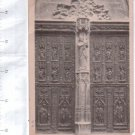 Aix En Provence France Cathedral Front  Door Postcard circa 1906 WITH STAMP