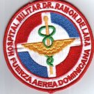 Dominican Air Force Medical Doctor Hospital Patch ORIG