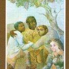 Argentina La Fraternidad Demetrio Urruchua Painting Picture Art Postcard