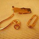 Argentina Army Uniform Belt Hanger Clip NEVER USED 3 pieces #2