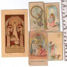 Argentina Children Boy Girl Angel Comunion Christian Holy Card LOT OF 5  Cards