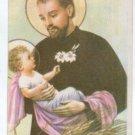 Argentina Saint Cayetano Cayetan Holy Card Almanac