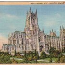 The Cathedral of St. John The Divine New York Postcard