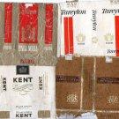Vintage Original Cigarette c1970 Labels Tags Use Outside USA LOT of 4 #3