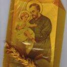 St Cayetan Cayetano Jesus Christ Holy Card  REAL SPIKE