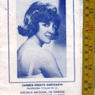 Argentina Astral Theatre Ballet Performance 1981 Program