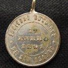 St Isidro Argentina St Mary Chapel 1891 Holy Medal