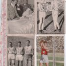 Germany Olympia 1932 Sports Card  Olympic Los Angeles Games 4 CARDS SET