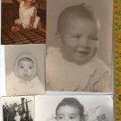 Antique Argentina Boy Girl Baby Children  Postcard Photo LOT OF 5 PHOTOS