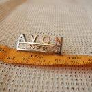 Avon Perfume Advertising Sales Woman 20 Years Service Award Pin Pinback