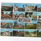 Roma Rome Townview 16 in 1 Italia Italy  Postcard