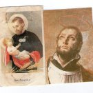 Argentina St Cayetano Cayetan Holy Card  2 Cards