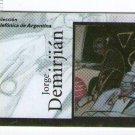 Jorge Demirjian Argentine Painter Painting Art Phone Card  ORIGINAL  VINTAGE
