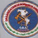 American Firefighters Organization Fire Brigade Patch