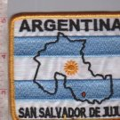 Argentina Army Jujuy Province & Flag Patch