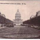 France Paris Av Breteuil  Dome des Invalides Postcard