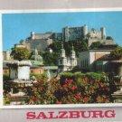 Austria Salzburg City View MAILED FROM SLOVENIA Postcard VINTAGE