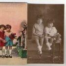 Argentina Real Photo Children Girl Boy Baby Postcard  Studio RPPC LOT OF 2