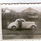 ARGENTINA VINTAGE Old Car REAL PHOTO Ford Coupe
