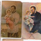 Argentina St Cayetano Cayetan Holy Card  2 Cards #2