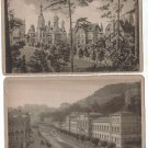 Germany Karlsbad Kurhaus & Westend Postcard 2 Postcards