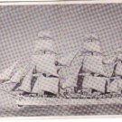 Argentina Navy Sarmiento Frigate WWII Ship WW2 Postcard