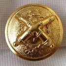 Argentina Army Crossed Cannons Gunner Badge Plate