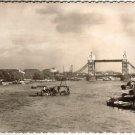 Pool of London England 1955 Postcard Postcards w Stamp