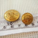 Argentina Navy Armada Marines infantry  Button LOT OF 2