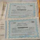 Argentina RUMIN Society 50000  Pesos 1968 Bond Share Stock Certificate LOT OF 2