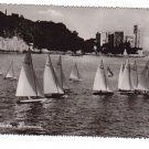 Sailboats in Boat Race Sailing Trieste Italy Postcard