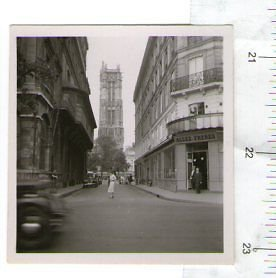 France Paris St Jacques Tower Pre WW2 PHOTOGRAPH PHOTO CIRCA 1930