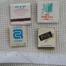 Vintage Domestic & Argentine Hotels & Restaurants  Matchbook Matchbox SET OF 4