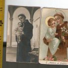 Argentina St Anthony Antonio Padova Padua Holy Card  2 CARDS  VINTAGE