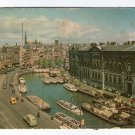 Amsterdam Holland Netherlands City View Vintage Postcard