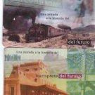 Argentina Railway Railroad Train Phone 2 Cards Card