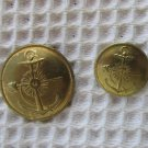 Argentina Navy Marines Infantry Button 2 Buttons OLD