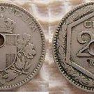 Italy Italia 20 Centesimi 1918 Coin Coins OUTSTANDING