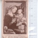 Florence Gallery of Offices Lippi Painting Virgin & Jesus Child  POSTCARD