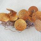 Argentina Laiglon Button Lot of 10  DATED CIRCA 1960 NOS