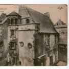 Bourges Hotel Lallemant Tower & Entrance  France Postcard VERY OLD