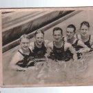 Germany Olympia 1932 Sports Card Swiss Schweis Wrestling Team