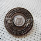 Argentina Air Force Professional Musician Music Band Uniform Emblem Badge  Pin