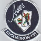 Venezuela Air Force 131th Squad Aces Team Patches Patch