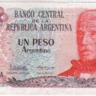 Argentina 1 Peso ARG Bank Note Banknote Paper Money